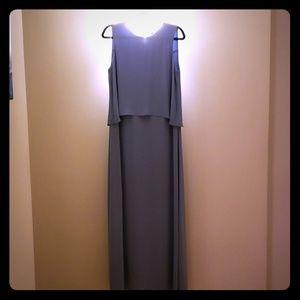 BCBGMAXAZRIA Briyana Shadowblue Dress Size 8